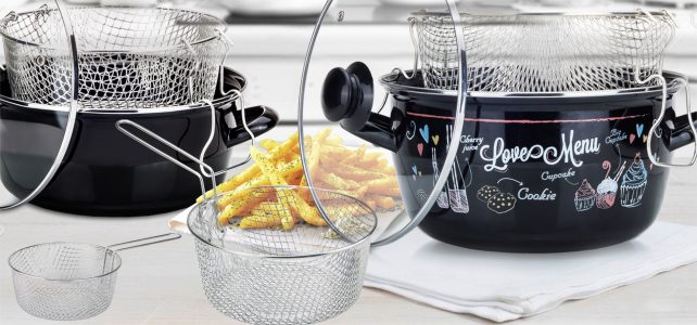 Fryer Basket Tin Plated